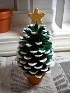 まつぼっくりクリスマスツリー
