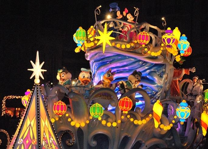 1ディズニーシーのクリスマスのショー