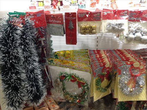 クリスマスツリーオーナメント、セリア